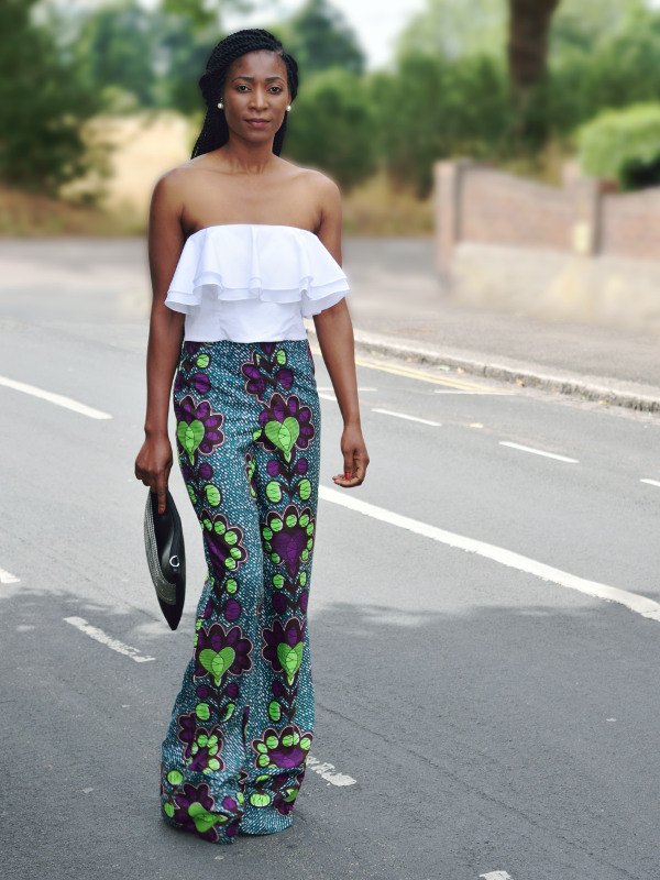 3 different ways to style ankara pants