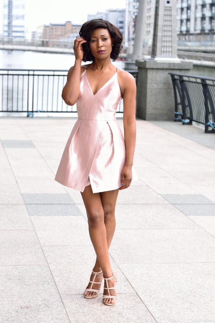 bonded dress